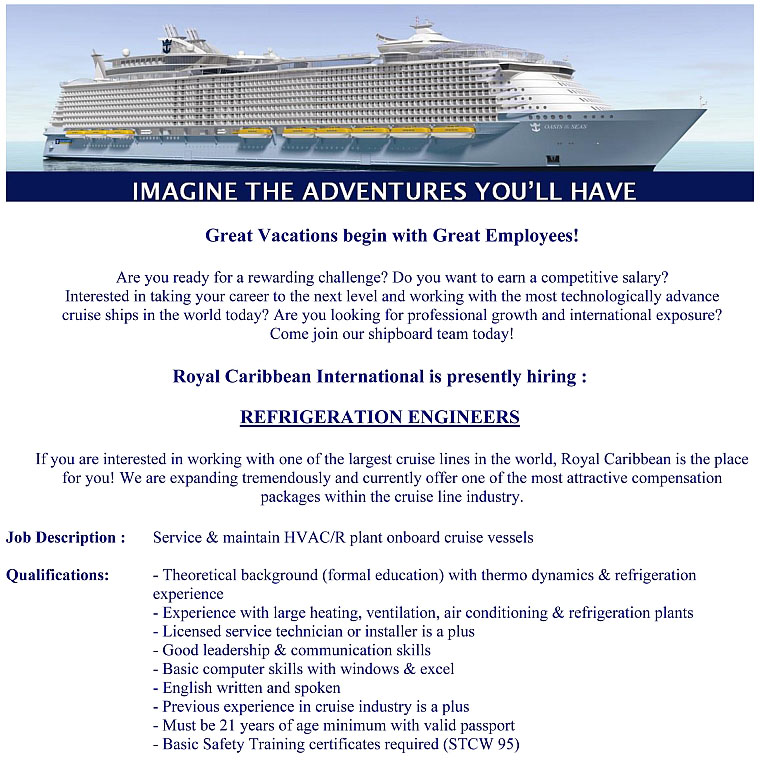 Cruise Ship Any One - Cruise ship worker blog