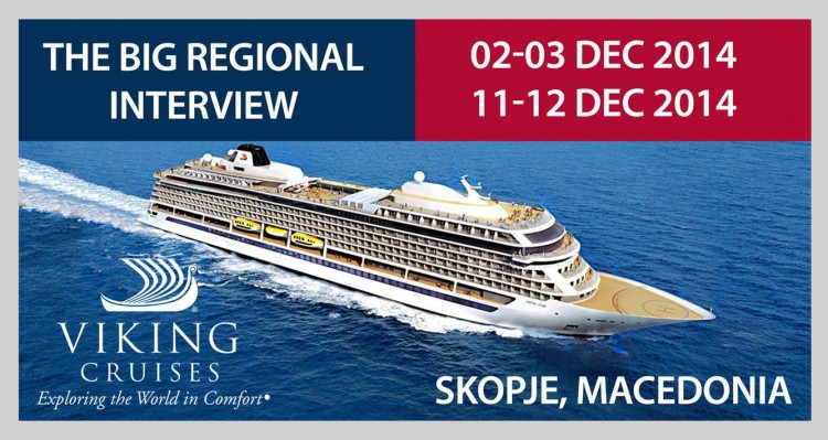 Viking Ocean Line Intervju U Skoplju 12 2014 Posao Na