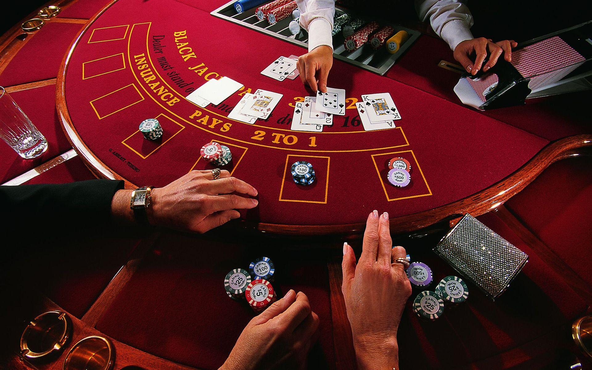 Las vegas casinos blackjack
