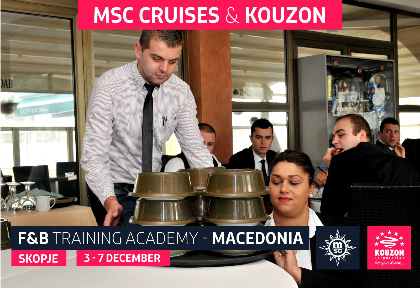 2 2017 Msc F Amp B Training Academy Skopje Macedonia
